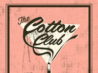 Cotton club poster