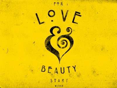 With love and beauty