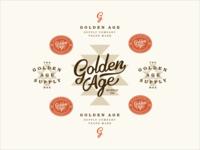 Golden Age Supply Co Branding