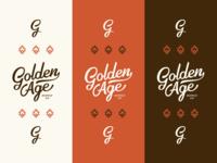 Golden Age Branding Color Spread