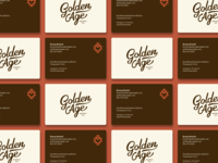 Golden Age - Business Cards