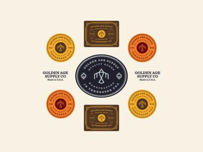 Golden Age Badges