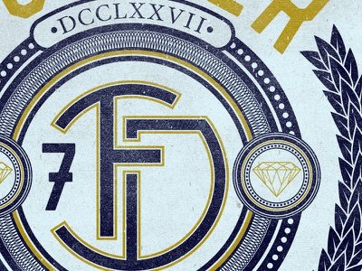 Past This Lifetime monogram designbydiamond diamond forever logo seal 7 dsbd fd leaves brand teeshirt lettering typography