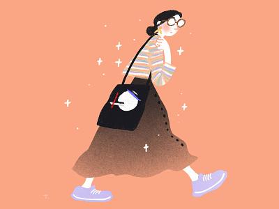Une icône de la mode self portrait portrait fashion illustration