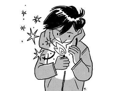 A Lighter inktober2019 illustration