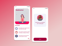 Myndful - Meditation App Concept