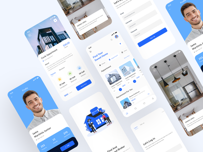 Rent Apartment : Real Estate mobile app clean creative 2020 trend rental rental app rentals spash app design ios app apartment apartment design apartments for sale dribbble best shot dribbble popular design popular wireframing mobile ui minimal