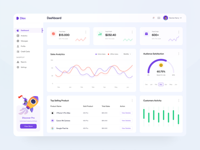Sales Analytics Dashboard design website web design illustration chart dashboad dashboard design dashboard ui analytic analytics chart analytics dashboard pie chart income earning ux uiux interface