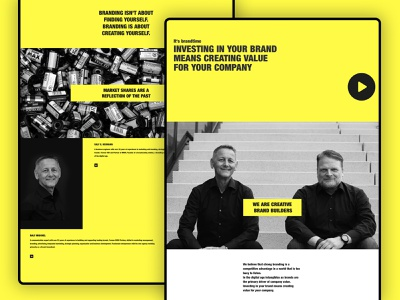 BRANDTIME - Website corporate identity corporate branding corporate design corporate design website design web design webdesign website
