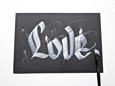 Love type typography hellotype handmade custom letters brushcalligraphy brushpen brushlettering lettering brush calligraphy