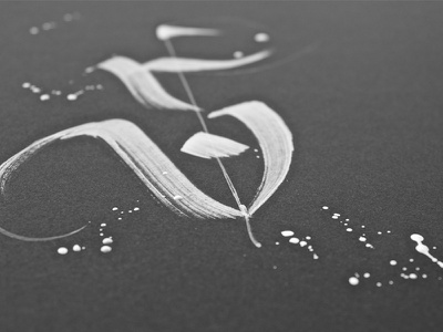 Lettering S Detail typography type letters lettering hellotype handmade custom calligraphy brushpen brushlettering brushcalligraphy brush