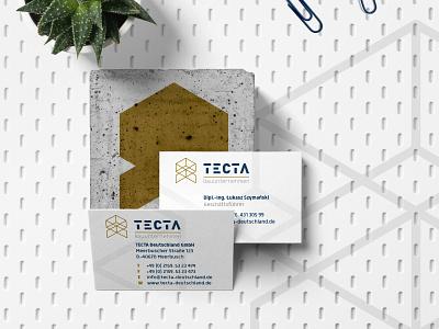 Corporate Identity - TECTA Deutschland GmbH businesslogo logoinspiration hellotype xyzettgraphix designspiration brandingdesign graphicdesigners businesscard brandingidentity branding design logodesign corporatedesign grafikdesign logotype logo design corporate
