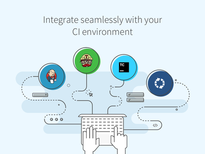 Seamless integration atlassian jetbrains browserstack automated testing get started bamboo team city travis jenkins sass ci