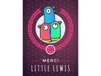 Merci Little Lewis !