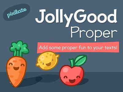 Jollygood Proper Font comic sans casual cartoon typography comic sans font