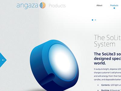 Angaza Design: Products Page