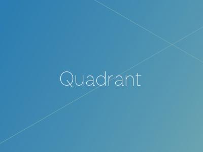 Quadrant Logotype macro econ economics jobs gdp financial macroeconomics investormill quadrant.io brand quadrant data