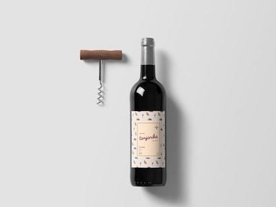 Tamjanika wine packaging wine label invite shot thanks arrow kids print illustration typography illustrator