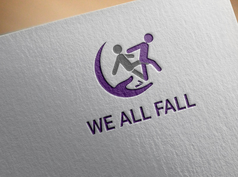 We ALL FALL Logo