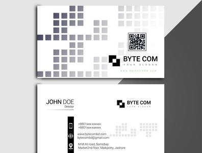 DV 0002 branding business card vector flat logo design typography