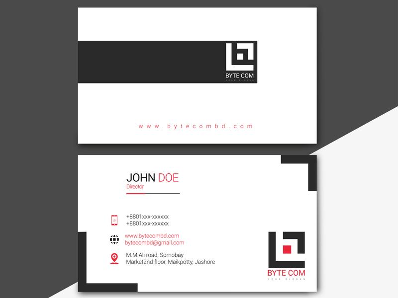 DV Vector 0005 flat logo business card vector design branding typography
