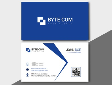 DV Vector 0007 vector business card flat logo design branding typography