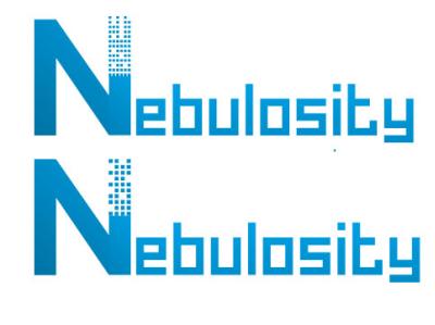 n logo vector icon id card design envelope illustrator typography illustration logo