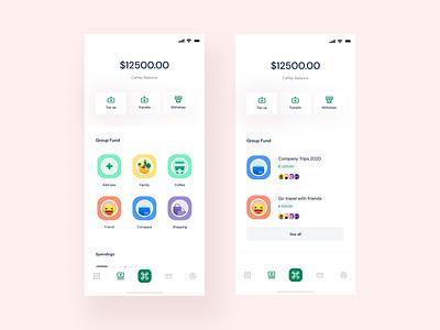 Wallet UIX saas app money bank user experience user interface simple nice clean ui clean wallet startup screen interface application ux ui theosm india designer design