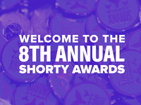 Shorty Awards UI