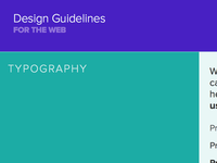 Shorty Awards Web Style Guide
