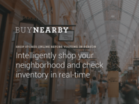 BuyNearby Homepage