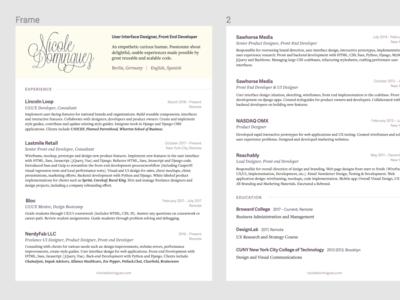 2019 Resume cv resume