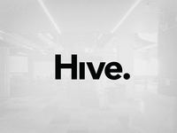 Hive, Identity Idea #2 logo identity hive minimal