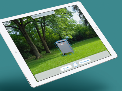 In-field Augmented Reality Tablet App tablet app ar