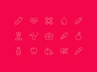 Icon Set | Health And Medicine