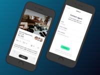 Real Estate App | Listing Screen