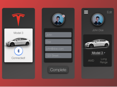 Daily UI Challenge 006 - Profile Page