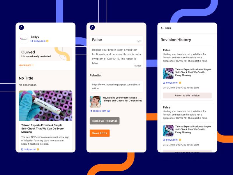 Reasonal Mobile App startup desktop edit text dashboard wikipedia news product ux ui app mobile