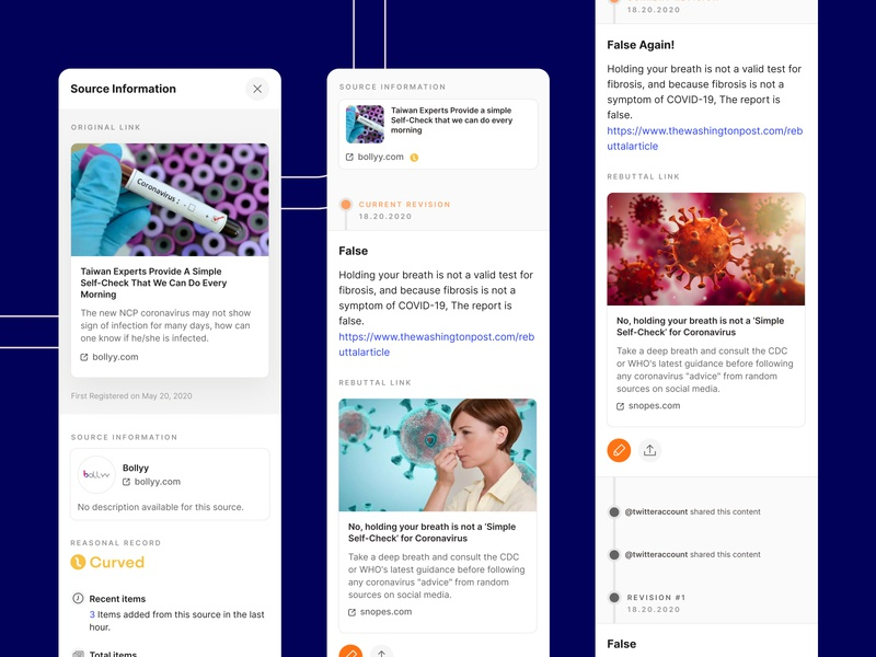 Reasonal Mobile v2 socialmedia mobile app ux ui comment edit dashboard news app mobile