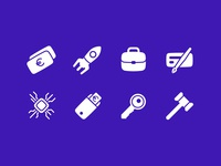 FDB Category Icons 2 iconography business fintech ui finance iconset icons icon