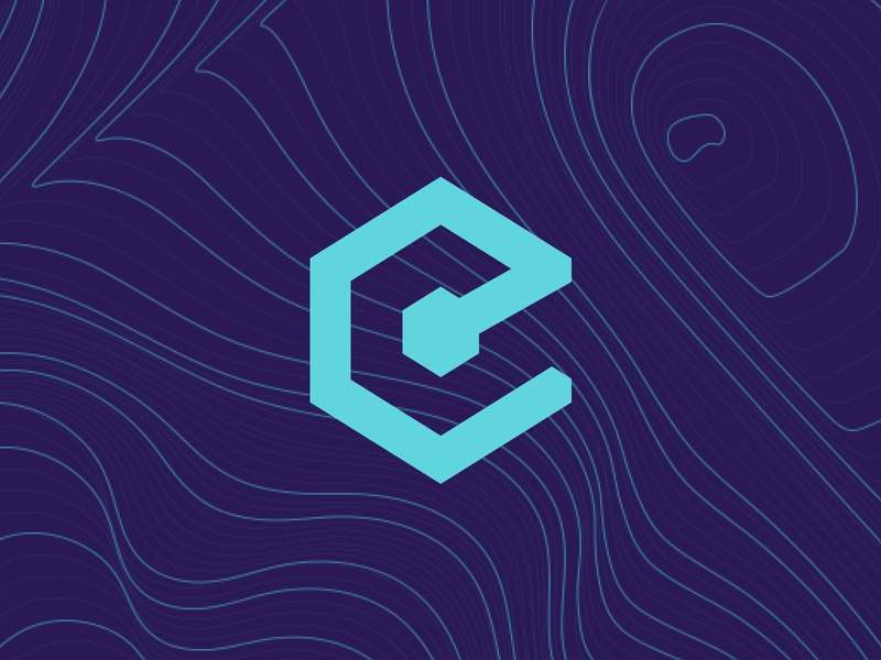 Epicenter Mood blockchain podcast branding brand pattern logo