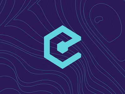 Epicenter Mood blockchain podcast branding brand pattern logo