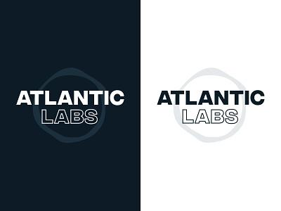 Atlantic Labs Rebrand logotype typography branding brand logo design logo