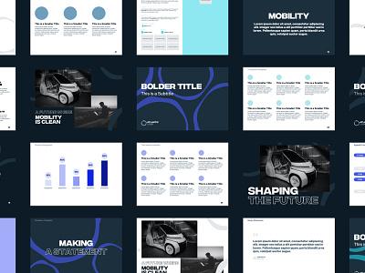 Atlantic Pitch Design graphicdesign typography graphs branding brand pdf pitch