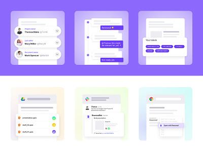 Reasonal Illustrations website webdesign icon design branding brand digital tech graphics illustration
