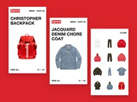Supreme x Louis Vuitton - Mobile Product List Page