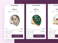 Alina Abegg Mobile Product Card