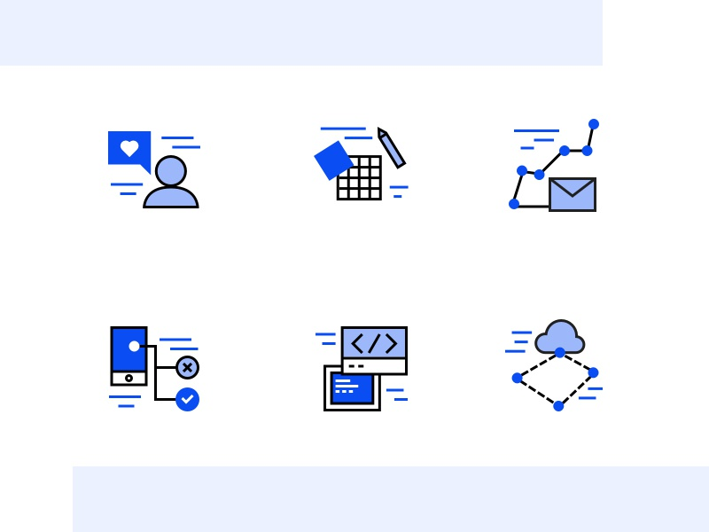 Strive Icons innovation technology solid outline edgy iconset icon