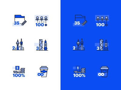 Strive Numbers Iconset innovation technology solid outline minimal iconset icon