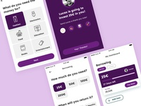 Lendonomy App Borrowing Process